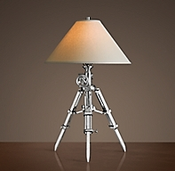 royal marine tripod table lamp. Black Bedroom Furniture Sets. Home Design Ideas