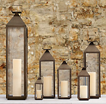 Yountville Lanterns - Weathered Bronze
