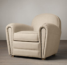 Duncan Upholstered Club Chair
