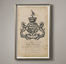18th C. English Armorial Engraving - 02
