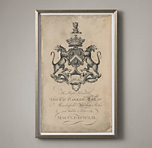 18th C. English Armorial Engraving - 03