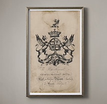 18th C. English Armorial Engraving - 04