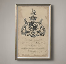 18th C. English Armorial Engraving - 05