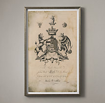18th C. English Armorial Engraving - 06