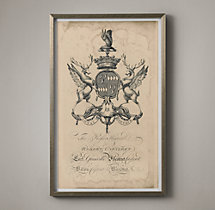 18th C. English Armorial Engraving - 07