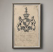 18th C. English Armorial Engraving - 08