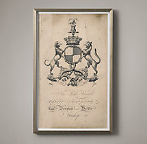18th C. English Armorial Engraving - 09