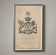 18th C. English Armorial Engraving - 11