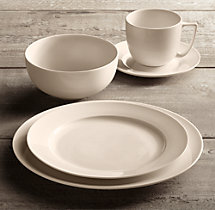 Chinese Porcelain Grand-Rimmed 20-Piece Dinnerware Set with Cereal Bowl