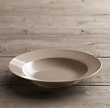 Chinese Porcelain Grand-Rimmed Pasta Bowl (Set of 4)