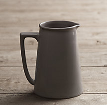 Stoneware Small Pitcher
