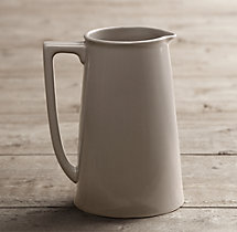 Stoneware Large Pitcher