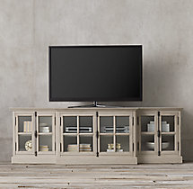 "French Casement 100"" Media Console"