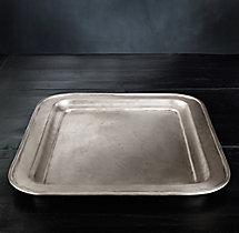 Vintage Hotel Large Rectangular Tray