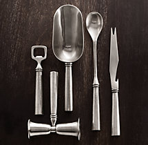 Vintage Hotel 5-Piece Bar Tool Set