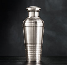 Vintage Hotel Channel Cocktail Shaker