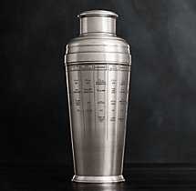 Vintage Hotel Recipe Cocktail Shaker