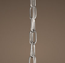 19th C. French Empire Chainmail Extension Chain