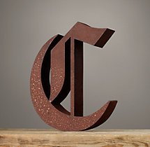 Handcrafted Gothic Letters - C