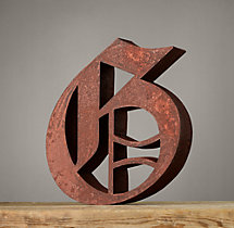 Handcrafted Gothic Letters - G