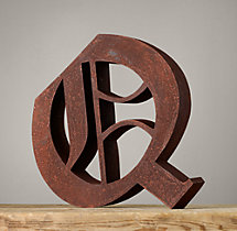 Handcrafted Gothic Letters - Q