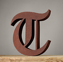 Handcrafted Gothic Letters - T