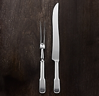 English Fiddlehead Carving Set