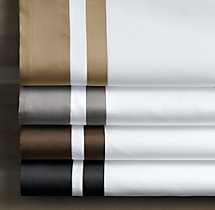 Italian Double Border Sateen Bedding Swatch
