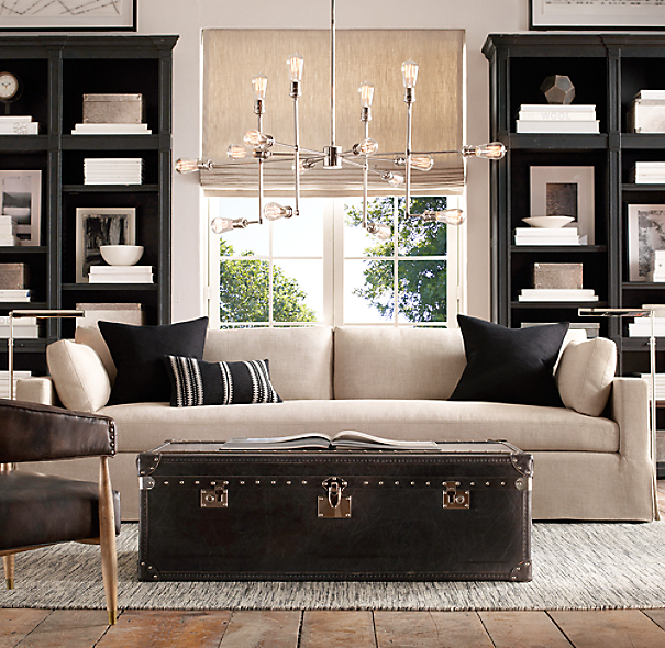varick chandelier 51. Black Bedroom Furniture Sets. Home Design Ideas