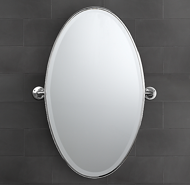 Sutton Oval Pivot Mirror