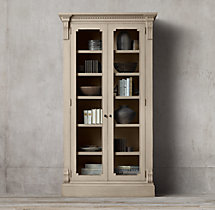 St. James Glass Double-Door Cabinet