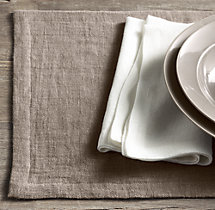 European Sheer Linen Placemats (Set of 4)