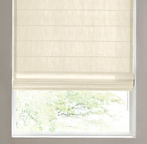 Belgian Opaque Linen Tailored Roman Shade