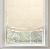 Belgian Sheer Linen Relaxed Roman Shade