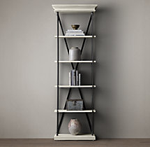 "Parisian Cornice 33"" Single Shelving"