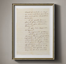 19th C. French Court Document 5
