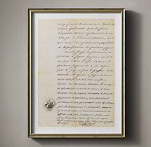19th C. French Court Document 8