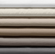 Garment-Dyed Sateen Bedding Swatch