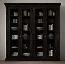 St. James Glass 4-Door Cabinet