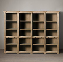 Atkins Quad Low Shelving