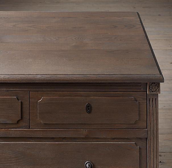 Restoration Hardware Louis Xvi Dresser: Louis XVI 10-Drawer Dresser
