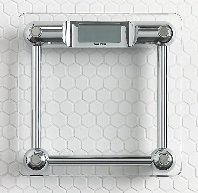 salter glass bath scale