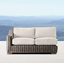 Provence Classic Two-Seat Left-Arm Sofa