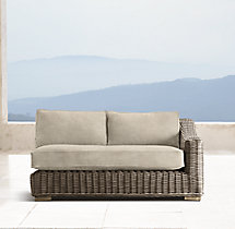 Provence Classic Two-Seat Right-Arm Sofa