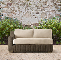 Provence Classic Left/Right-Arm Two-Seat Sofa Cushions