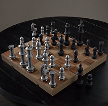 Giant Vintage Chess Set