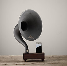 Gramophone Mini For iPhone® - Walnut