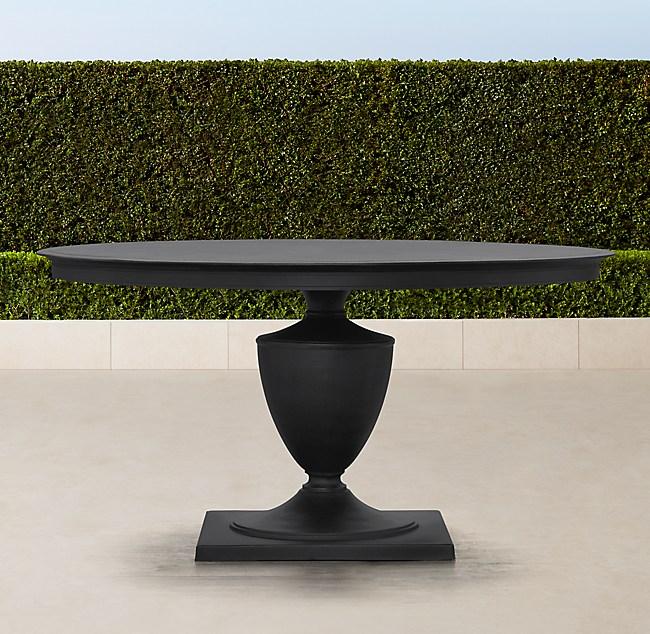 Klismos Round Dining Table