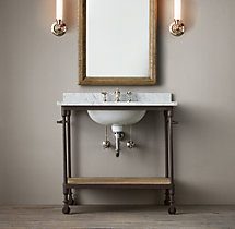Dutch Industrial Single Washstand