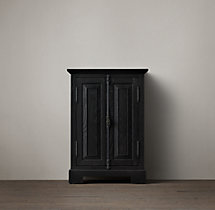 French Casement Short Bath Cabinet